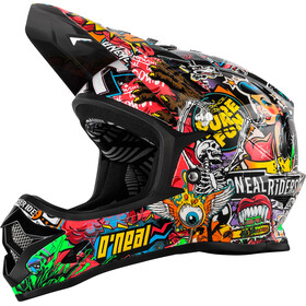 O'Neal Backflip RL2 Evo Casque Enfant, crank black/multi
